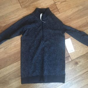 NWTs Lululemon Rest Less 1/4 Zip Top